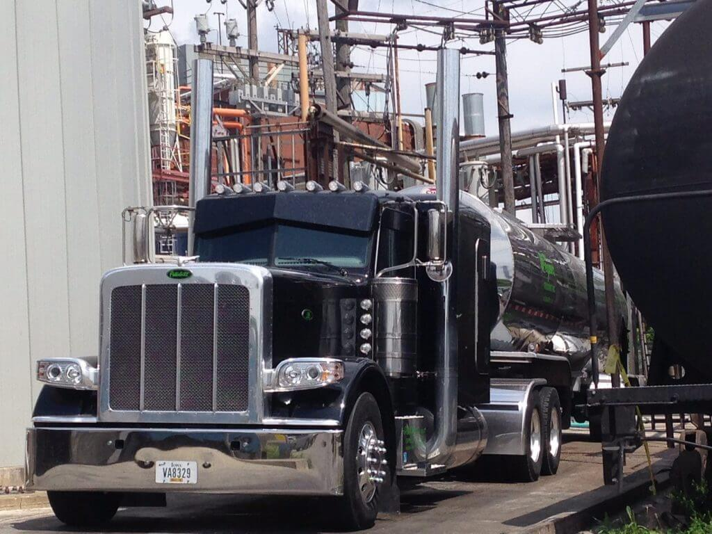 Liquid bulk freight brokers delivering into chemical plant