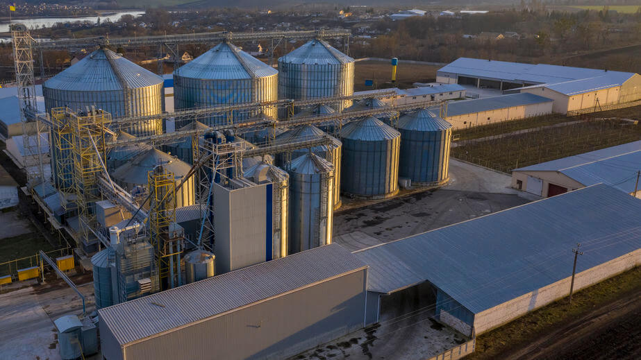 agro-chemical manufacturing plant