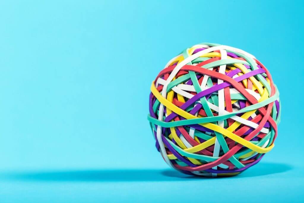 Elastomer rubber bands